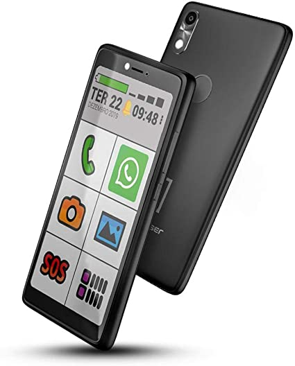 Celular para idosos com Internet e Whatsapp Oba Smart 3 Obabox Original