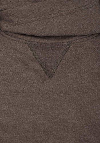 Hoodie Sales Felpa Colletto Tuta Uomo Con Mix 70816 Mocca Blend Cappuccio Incrociato Da OapXqq