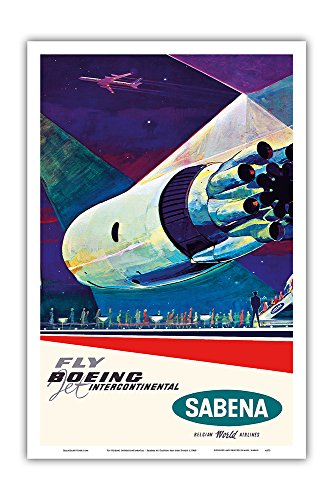 Pacifica Island Art Fly Boeing Intercontinental - Sabena for sale  Delivered anywhere in USA
