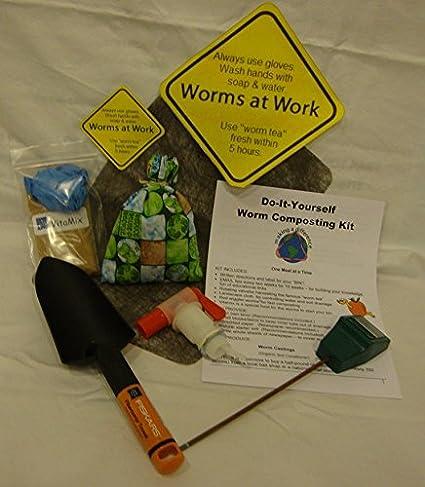 wormwatcher® Worm Granja Compostaje DIY Kit incluye gusanos & Correo Electrónico de entrenamiento instructivo.: Amazon.es: Jardín