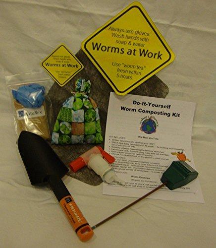 wormwatcher® Worm Granja Compostaje DIY Kit incluye gusanos ...