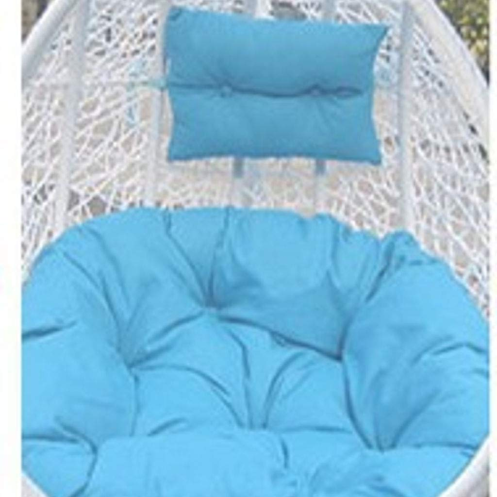 MOSU Wicker Tear Drop Hanging Chair Cushion Without Stand