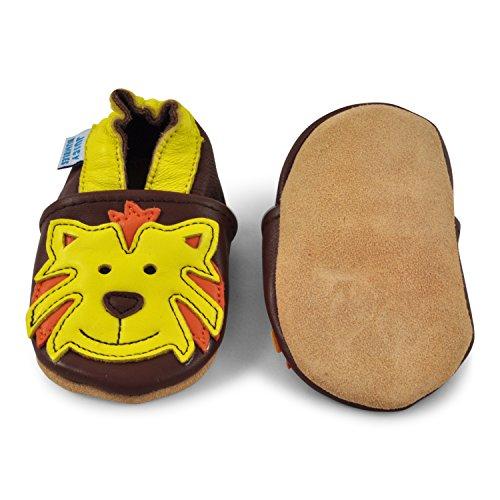 Juicy Bumbles - Zapatos de Bebé – Ballena - 0-6 Meses Tigre