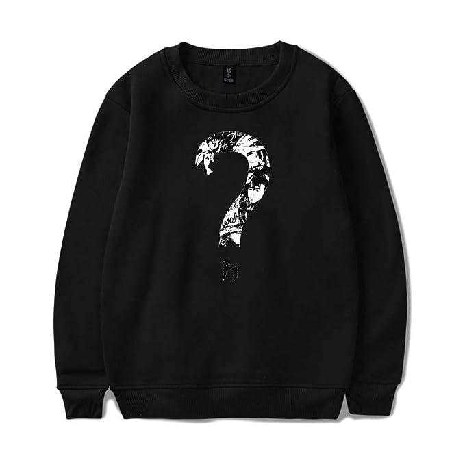 Unisex Xxxtentacion Sudaderas Camisetas Manga Larga Sudadera Moda Suéter Cuello Alto Sudaderas para Hombre y Mujer Sueter Sudaderas: Amazon.es: Ropa y ...