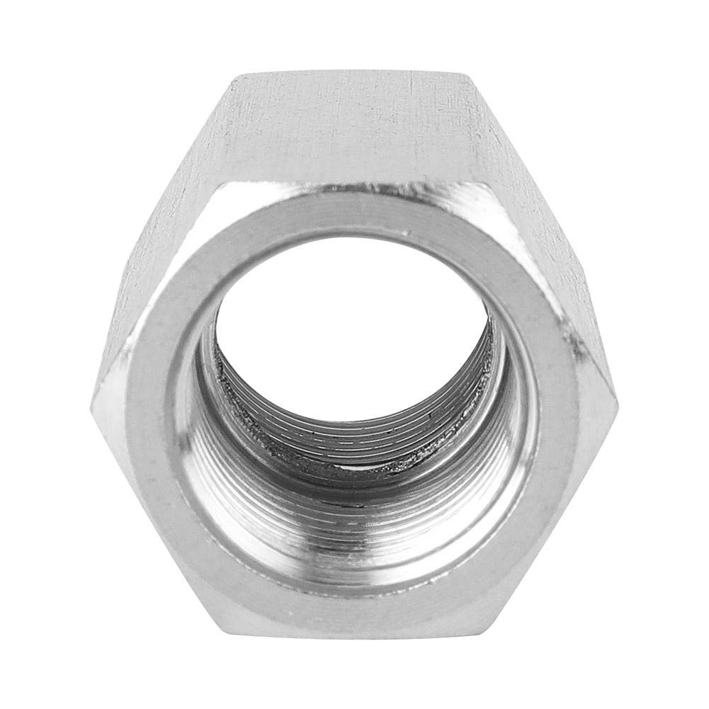 "3//8in Hex Nut Rod Adapter Fitting Stainless Steel BSPP Female 1//8in 1//4/"" 1//2in for Water Pipe Connection 1//4in"
