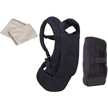653311d3ead Amazon.com   Mountain Buggy Juno Baby Carrier in Black with Teething Pad -  Sand   Baby