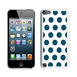 good review Polka Dot White and Dark Green iPod touch 5 Case White Cover