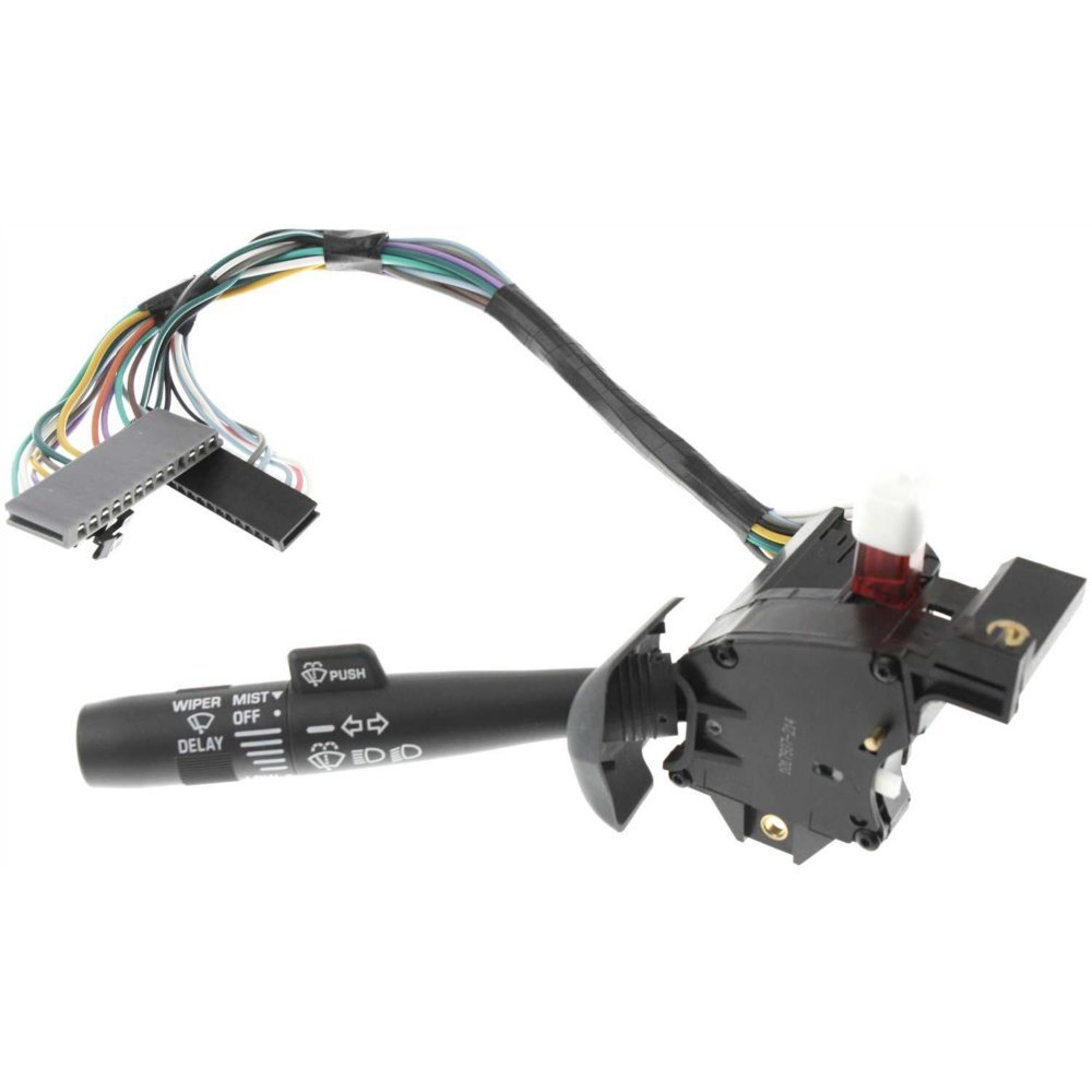 Turn Signal Switch compatible with Chevrolet C/K Full Size Pickup 95-02 Also Controls High and Low Beam Dimmer