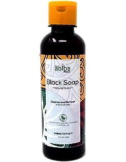 Jabón negro africano de The Abiba Project | Crema hidratante y orgánica natural cruda para la