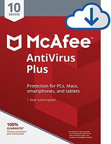McAfee AntiVirus Plus Device Download product image