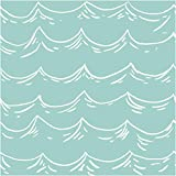 Creative Converting Elise 16Count 3-Ply Seafarer Harbor Luncheon Napkins, Blue/White