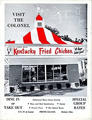 "Kentucky Fried Chicken Vintage Magazine Ad- ""Visit The Colonel"""