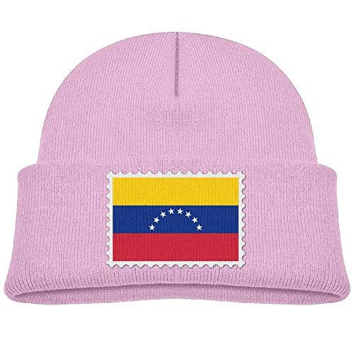 Venezuela Flag Stamp Beanie Hat Baby Girl Boy