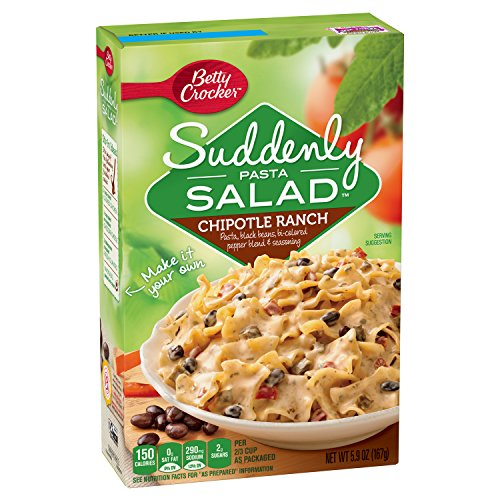 Suddenly Pasta Salad, Chipotle Ranch, 5.9-Ounce Boxes (Pack of 12)