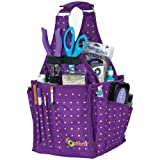 Creative Options 17-1/2-Inch by 10-Inch by 8-Inch Craftician Bag, Vineyard