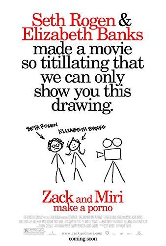 Zack and Miri Make A Porno - Movie Poster - 11 x 17