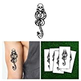 Beauty : Harry Potter Death Eaters Dark Mark Tattoos for Cosplay Accessories and Parties