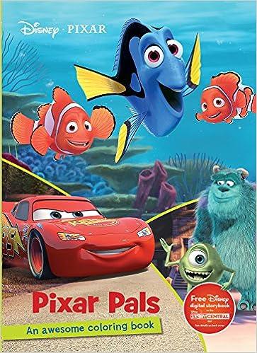 Pixar Pals Coloring Book (Disney Pixar) (Color Fun!): Parragon ...