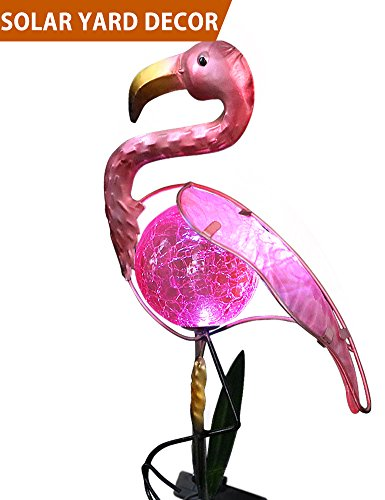 Pink Flamingo Garden Lights