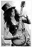"O-7365 Slash - Guns N' Roses - Music Wall Decoration Poster#7 Size 24""x35""inch. Rare New - Image Print Photo"