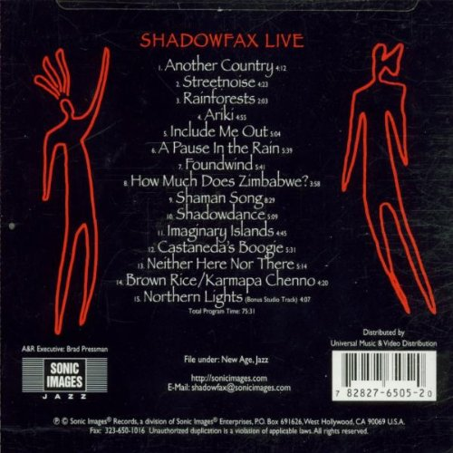 Shadowfax Live by Sonic Images