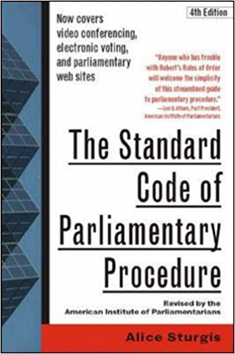 !!PDF!! The Standard Code Of Parliamentary Procedure, 4th Edition. former adapter Sergio range Knotted