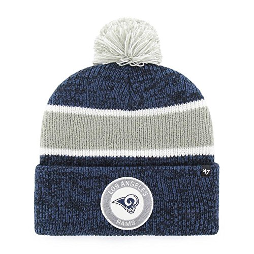'47 Los Angeles Rams Beanie Hat Noreaster Vintage Knit by '47