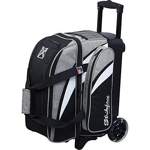 Strikeforce Cruiser Double Roller Bowling Bag Stone/White/Black