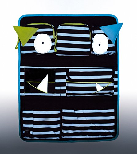 Lassig Kids Car Organizer  Wrap-to-Go Little Monsters Bouncing Bob by Lassig (Image #9)