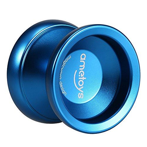 Ametoys Professional Magic Yoyo V4 High speed Unresponsive Yo-yo Aluminum Alloy CNC Lathe KK Bearing with Spinning String