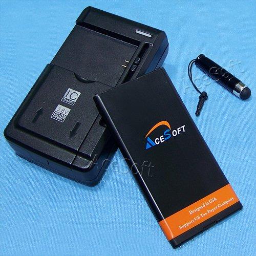 AceSoft 2650mAh Extended Slim Grade A Battery Universal Char