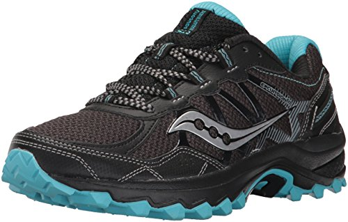 Saucony Women's Excursion Tr11 Running-Shoes Black/Blue