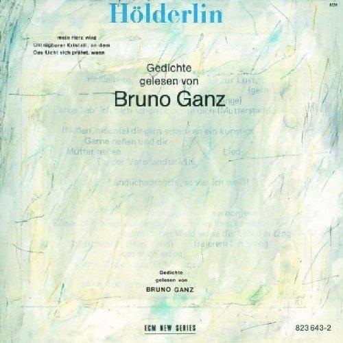 Bruno Ganz Holderlin Gedichte Gelesen Von Bruno Ganz By