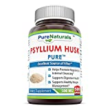 Pure Naturals Psyllium Husk 500 Mg, 500 Count For Sale
