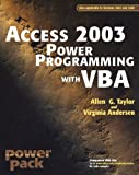 Access 2003 Power Programming with VBA, Allen G. Taylor and Virginia Andersen, 0764525883