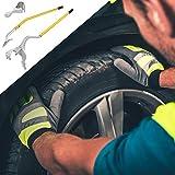 "Goplus Tire Changer, 17.5"" to 24"" Steel Tire Mount"