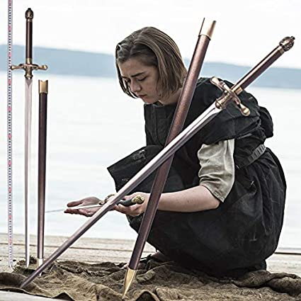 Knives, Swords & Blades Search For Flights Game Of Thrones Needle Sword #4 Arya Tv, Film & Game Replica Blades