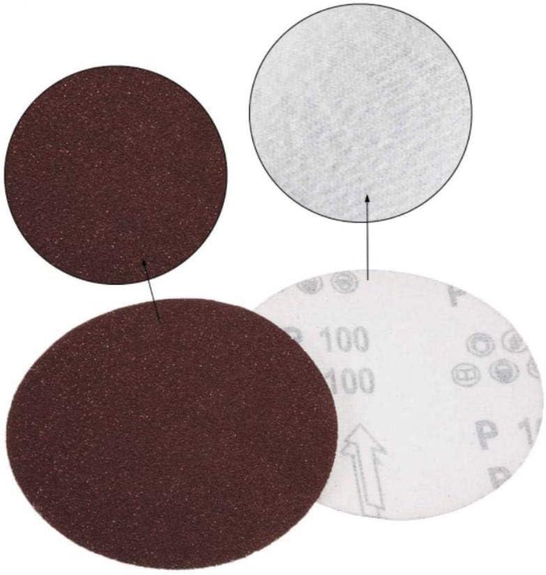 9-Inch/225mm Sanding Disc 40-2000 Grits Aluminum Oxide Flocking Back Sandpapers for Sanders 50 Pcs,9-Inch 150 Grits 9-inch 1200 Grits