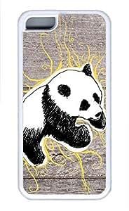iPhone 5c case, Cute Panda 10 iPhone 5c Cover, iPhone 5c Cases, Soft Whtie iPhone 5c Covers