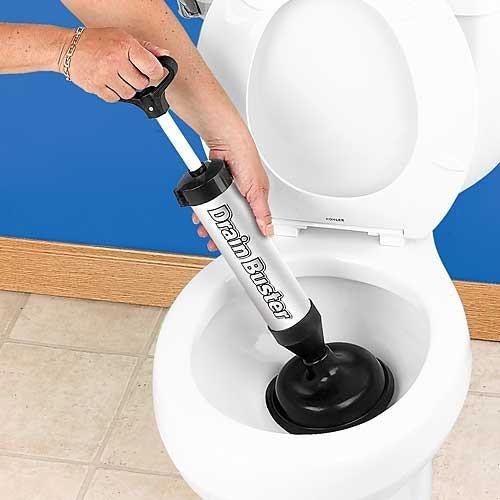 Bakaji Sturalavandini Scarichi e WC a Pompa Manuale Sturatubi a Pressione Drain Buster Stura Tubi