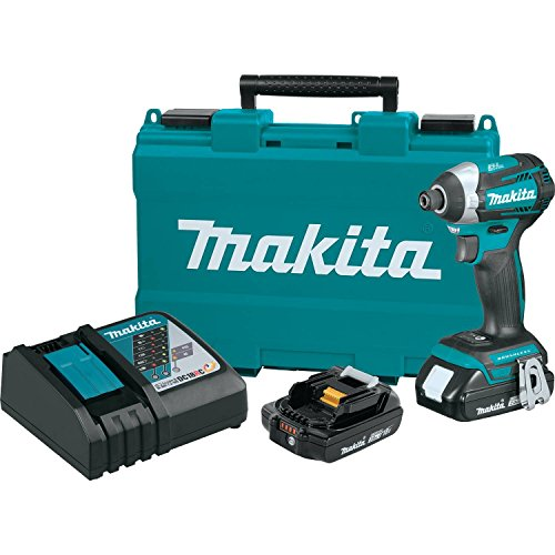Makita XDT14R 18V LXT Lithium-Ion Compact Brushless Cordless Quick-Shift Mode 3-Speed Impact Driver Kit (2.0Ah) For Sale