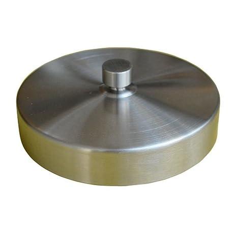 SODIAL Molde de empanadas hamburguesas de acero inoxidable Fabricante Herramientas de cocina Accesorios de cocina prensa