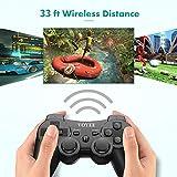 VOYEE PS3 Controller Wireless, Black Dualshock
