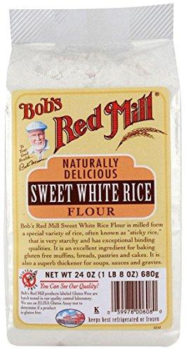 Bob's Red Mill Sweet White Rice Flour - 24 (Gluten Free Rice Flour)