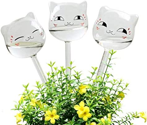 For Garden Plant Watering Device Indoor Automatic Cute Swan Snail Swan Glass UK