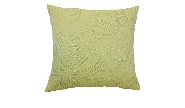 The Pillow Collection Pomona Floral Bedding Sham Hemlock Euro 26 X 26 Home Kitchen