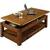 Steve Silver Company Nelson Lift-Top Cocktail Table, Oak