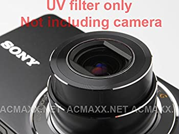ACMAXX Multi-Coated LENS ARMOR UV FILTER for Canon PowerShot S3 IS / S5 IS Camera