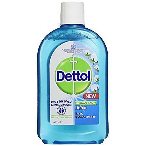 Dettol Disinfectant Liquid Cotton Breeze 250ml x 2 = 500ml ()