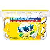 Sunlight Lemon Fresh Dishwasher Power Pacs, 95 Count